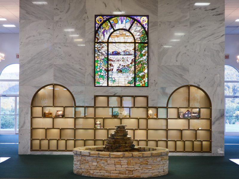 Mausoleum Glass Niches