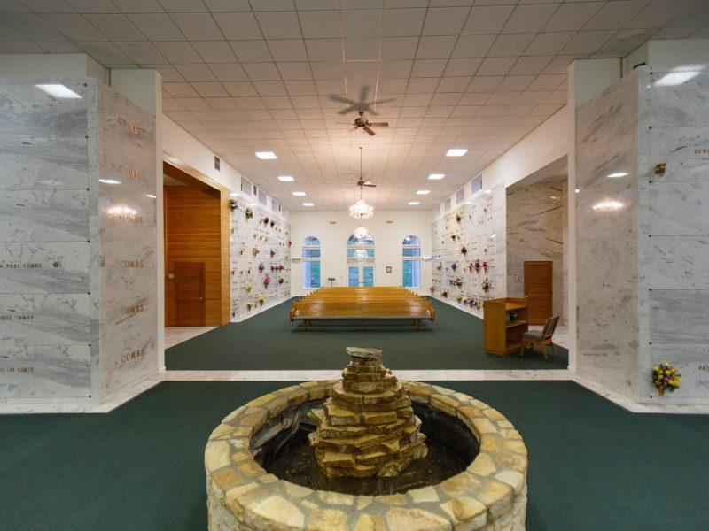 Mausoleum Interior – Back